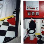 Mickey Mouse bathroom décor